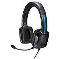 Tritton Kama Stereo Headset, schwarz / [PlayStation 4, PS VIta]